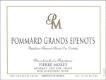 Domaine Pierre Morey Pommard Premier Cru Les Grands Epenots - label