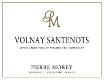 Domaine Pierre Morey Volnay Premier Cru Santenots - label