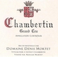 Domaine Denis Mortet Chambertin Grand Cru  - label