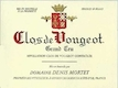 Domaine Denis Mortet Clos de Vougeot Grand Cru  - label
