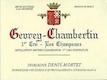 Domaine Denis Mortet Gevrey-Chambertin Premier Cru Champeaux - label