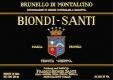 Biondi Santi (Tenuta Greppo) Brunello di Montalcino Annata - label