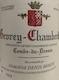 Domaine Denis Mortet Gevrey-Chambertin Combe-du-Dessus - label