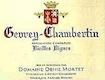 Domaine Denis Mortet Gevrey-Chambertin Vieilles vignes - label