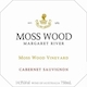 Moss Wood Cabernet Sauvignon - label
