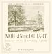Château Duhart-Milon Moulin de Duhart - label