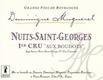 Domaine Dominique Mugneret Nuits-Saint-Georges Premier Cru Les Boudots - label