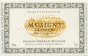 Domaine Jacques-Frédéric Mugnier Musigny Grand Cru  - label