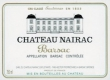 Château Nairac  Deuxième Cru - label