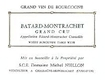 Domaine Michel Niellon Bâtard-Montrachet Grand Cru  - label