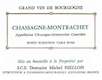 Domaine Michel Niellon Chassagne-Montrachet  - label
