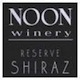 Noon Winery Reserve Shiraz - label