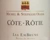 Domaine Michel et Stéphane Ogier Côte Rôtie Cuvée Les Embruns - label