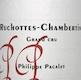 Philippe Pacalet Ruchottes-Chambertin Grand Cru  - label