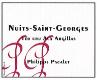 Philippe Pacalet Nuits-Saint-Georges Premier Cru Aux Argillas - label