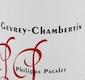 Philippe Pacalet Gevrey-Chambertin  - label