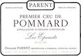 Domaine Parent Pommard Premier Cru Les Epenots - label