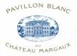 Château Margaux Pavillon Blanc - label
