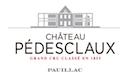 Château Pédesclaux  Cinquième Cru - label
