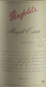 Penfolds Magill Estate Shiraz - label
