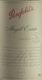 Penfolds Magill Estate Shiraz - label