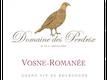 Domaine des Perdrix Vosne-Romanée  - label