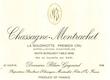 Blain-Gagnard Chassagne-Montrachet Premier Cru La Boudriotte - label