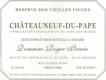 Domaine Roger Perrin Châteauneuf-du-Pape Réserve Vieilles Vignes - label