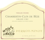 Domaine Perrot-Minot Chambertin Clos de Bèze Grand Cru Vieilles vignes - label