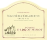 Domaine Perrot-Minot Mazoyères-Chambertin Grand Cru Vieilles vignes - label