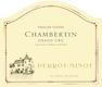 Domaine Perrot-Minot Chambertin Grand Cru Vieilles vignes - label