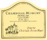 Domaine Perrot-Minot Chambolle-Musigny Premier Cru Les Fuées Vieilles Vignes - label