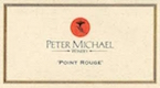 Peter Michael Point Rouge Chardonnay - label