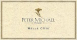 Peter Michael Belle Côte Chardonnay - label