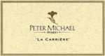 Peter Michael La Carrière Chardonnay - label