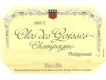 Philipponnat Clos des Goisses - label