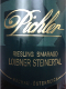 F.X. Pichler Riesling Steinertal Smaragd - label