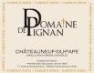 Domaine de Pignan Châteauneuf-du-Pape Cuvée Traditionnelle - label