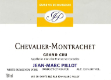 Domaine Jean-Marc Pillot Chevalier-Montrachet Grand Cru  - label