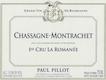 Domaine Paul Pillot Chassagne-Montrachet Premier Cru La Romanée - label