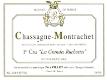 Domaine Paul Pillot Chassagne-Montrachet Premier Cru Grandes Ruchottes - label