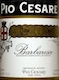 Pio Cesare Barbaresco  - label