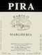 Luigi Pira Barolo Margheria - label