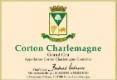 Maison Bertrand Ambroise Corton-Charlemagne Grand Cru  - label