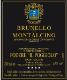 Il Poggiolo (Cosimi) Brunello di Montalcino  - label