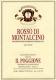 Il Poggione Rosso di Montalcino  - label