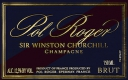 Pol Roger Cuvée Sir Winston Churchill - label