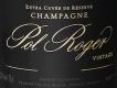 Pol Roger Brut Vintage - label