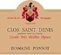 Domaine Ponsot Clos Saint-Denis Grand Cru Cuvée Très Vieilles vignes - label