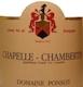 Domaine Ponsot Chapelle-Chambertin Grand Cru  - label